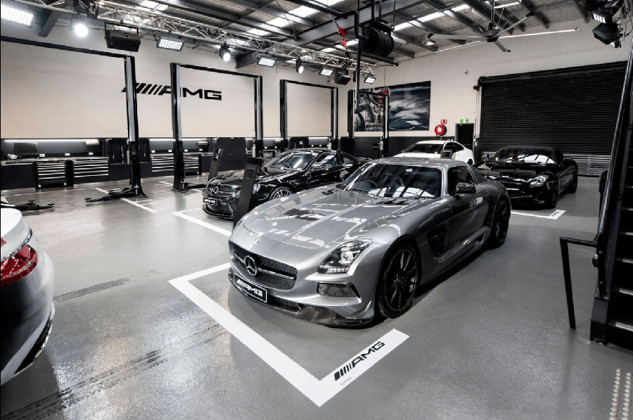 Official AMG workshop