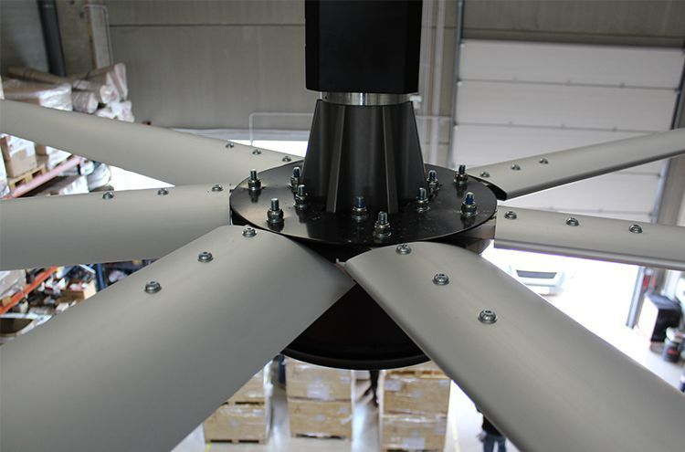 large industrial fan